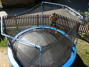 Coulter's Trampoline