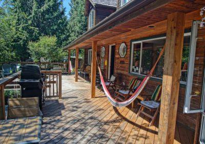 hammocks on front deck