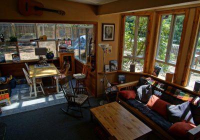 Lounge and sunroom